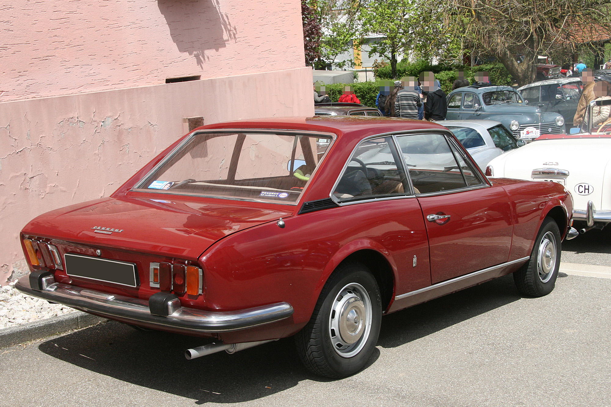 peugeot 504 v6 coupe injection 1974 car specs and details. Black Bedroom Furniture Sets. Home Design Ideas