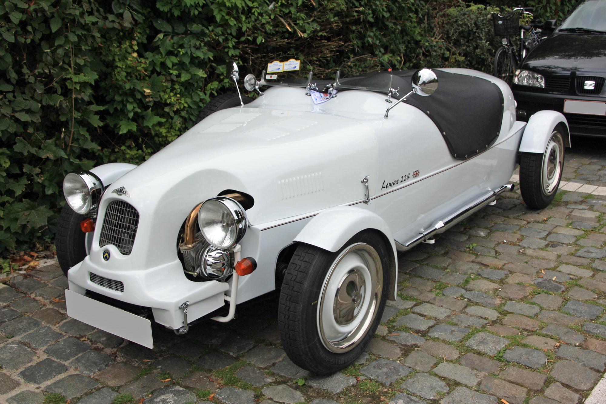 Description du v hicule lomax 224 encyclop die automobile - Kit carrosserie c4 coupe ...